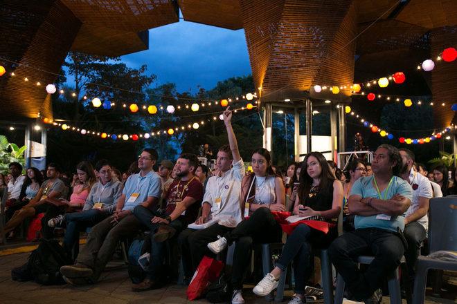 Público asistente al Festival Gabo.
