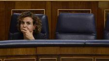 Dolors Montserrat, el pasado jueves en el Congreso de los Diputados.
