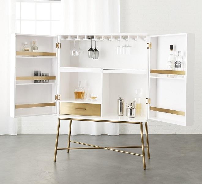 El mueble bar una pieza que recobra protagonismo for El mundo del mueble