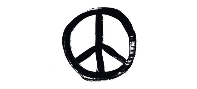 Resultat d'imatges de símbol pacifista