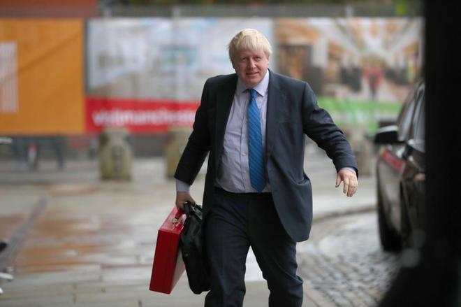 El ministro británico de Exteriores, Boris Johnson.