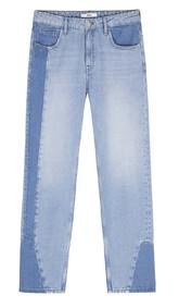 Los 'jeans' de dos colores son una de las tendencias estrellas de la...