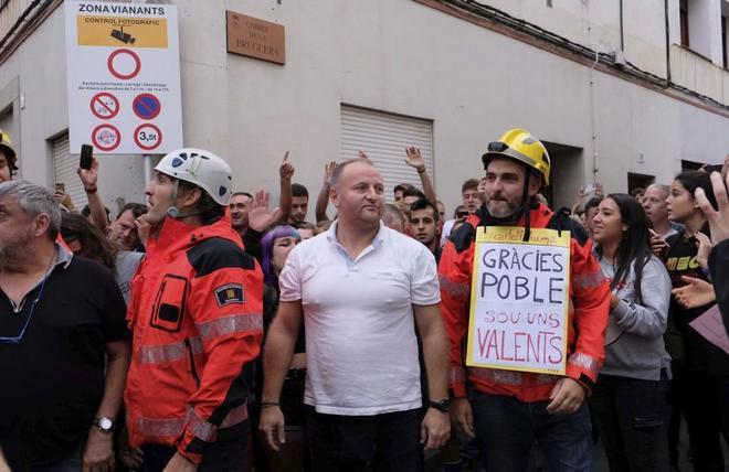 Concentración contra la presencia de guardias civiles en un hotel de...