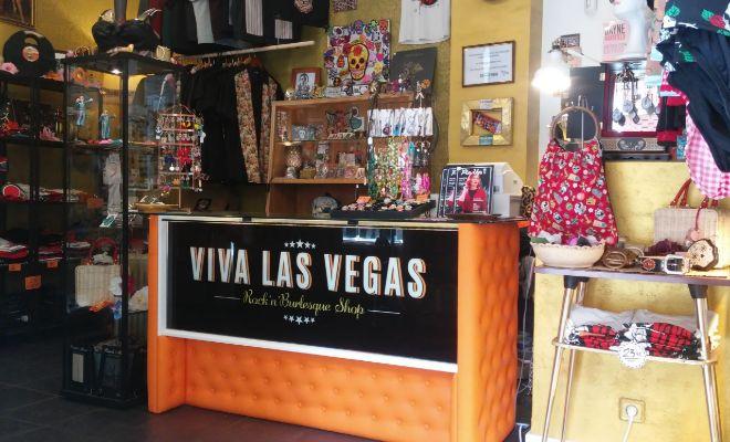 Interior de Viva Las Vegas Shop.