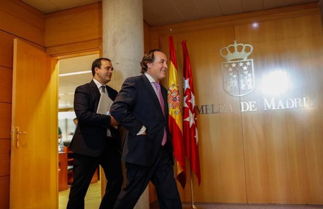 Jaime González Taboada, en la Asamblea.