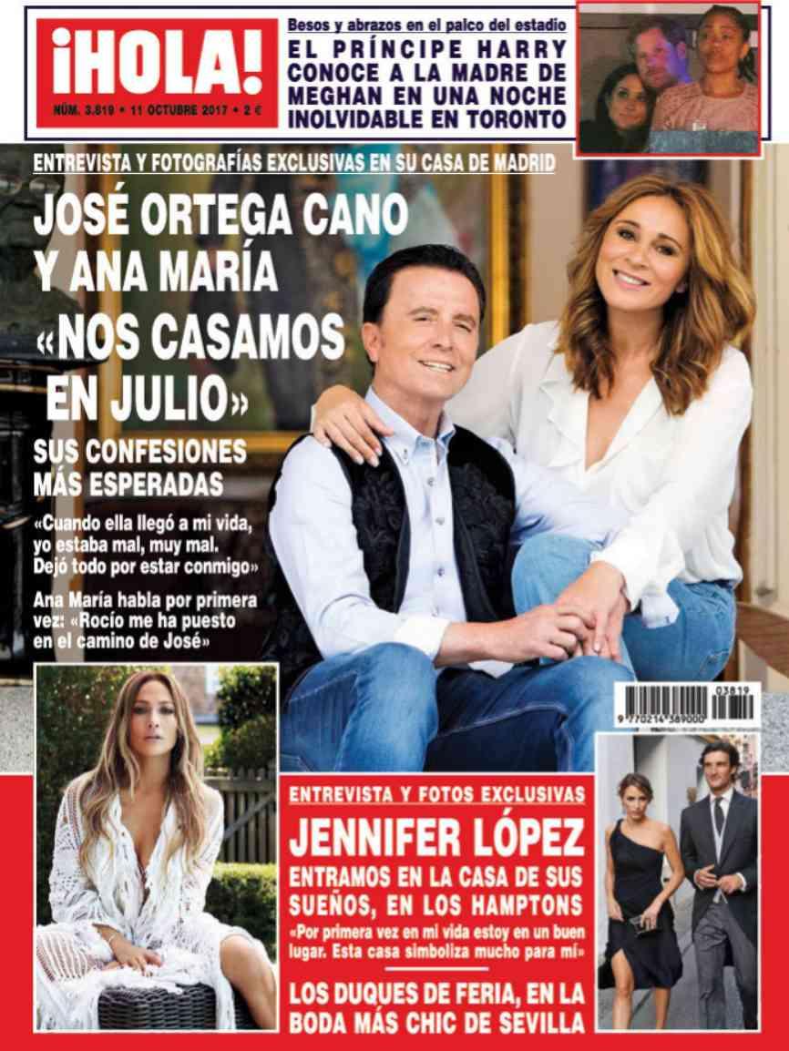 Porque ella es su amor y la madre de su hijo. Por eso José Ortega...