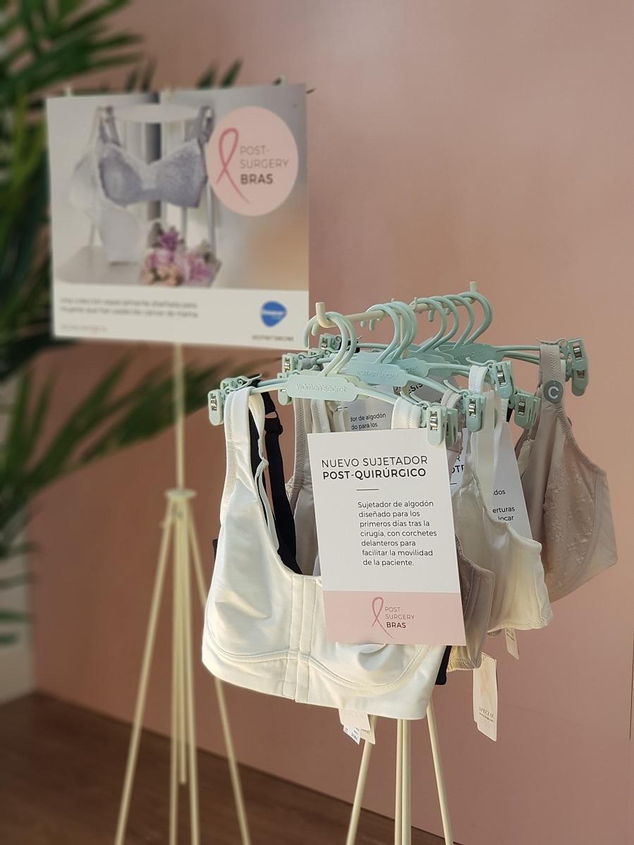 Colección Post-Surgery Bras de Womensecret y la Fundación Dexeus...