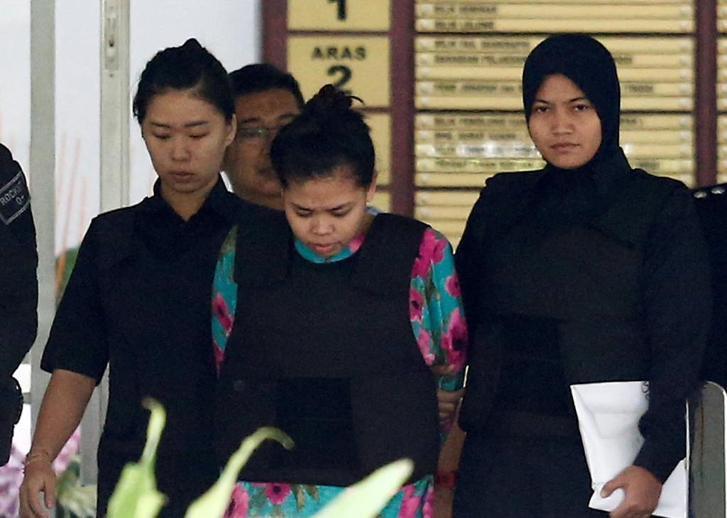 La indonesia Siti Aisyah y y la vietnamita Doan Thi Huong se...