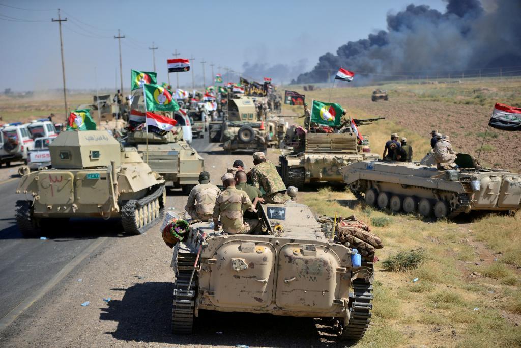 Las fuerzas de seguridad iraquíes han recuperado este jueves Hawija,...