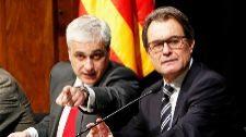 Germá Gordó y Artur Mas, en un acto en Barcelona en diciembre de...