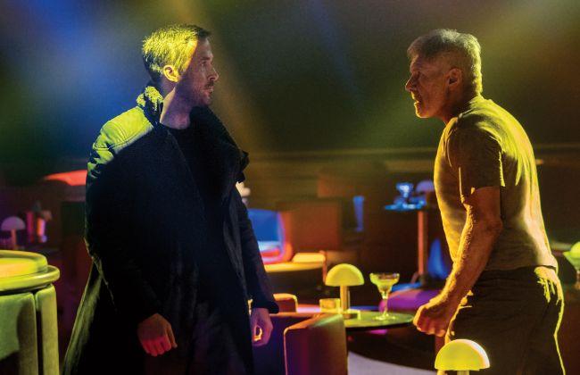 Harrison Ford (dcha.) repite en el papel de Rick Deckard; Ryan Gosling...