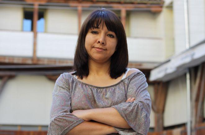 La letrada peruana Mirtha Vásquez, durante su visita a Madrid.