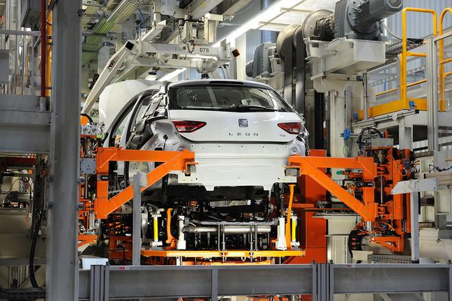 Imagen de la fábrica de Seat en Martorell (Barcelona).