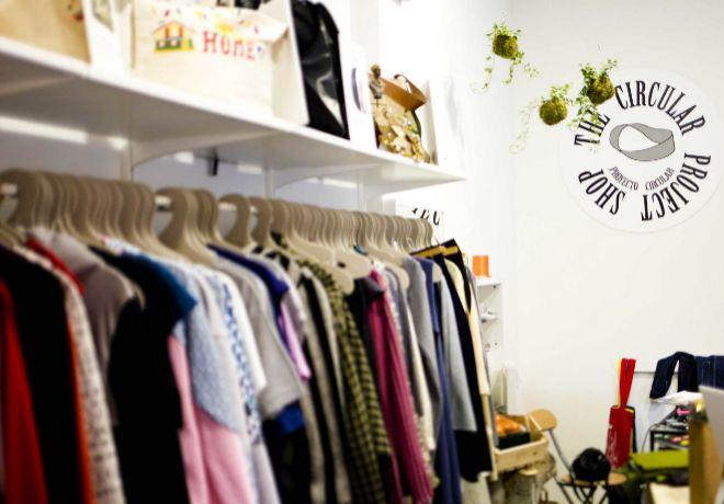 """Ther Circular Proyect. Esta tienda está especializada en moda """"eco""""."""