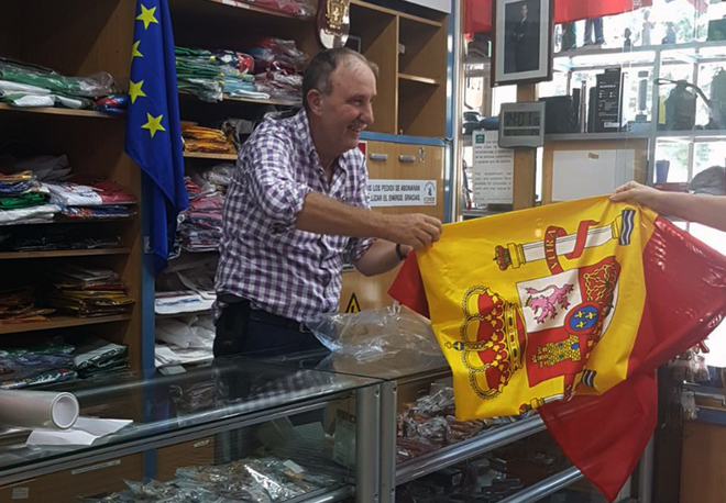 comprar bandera de españa
