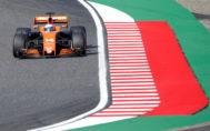 Fernando Alonso, en el circuito del GP de Japón, en Suzuka, este domingo.