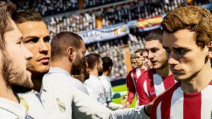FIFA 18 y Pro Evolution Soccer 2018, el derbi