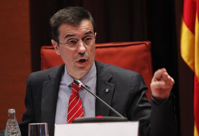 Amadeu Altafaj, jefe de la oficina de la Generalitat de Cataluña en...
