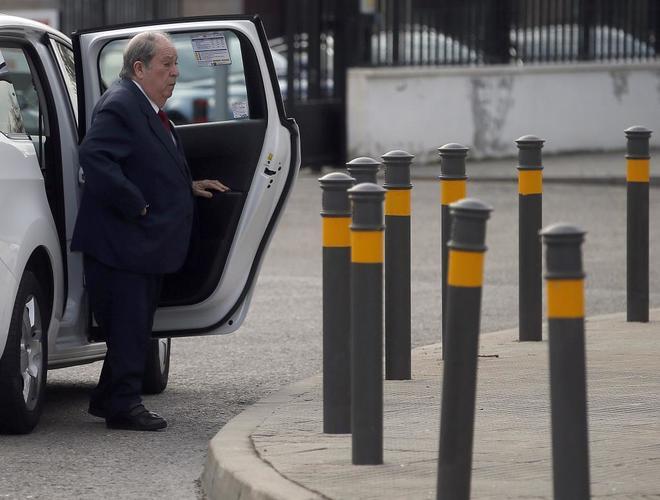 El ex secretario de Presidencia Lluís Prenafeta, en la Audiencia Nacional el pasado mes de marzo.
