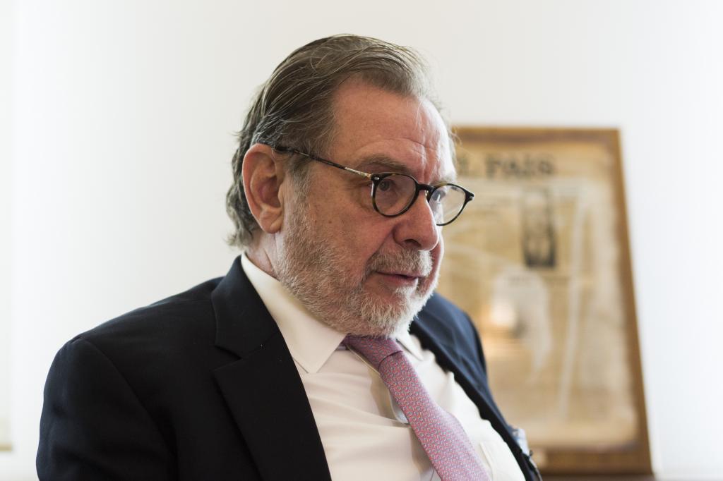 El empresario y editor Juan Luis Cebrián.