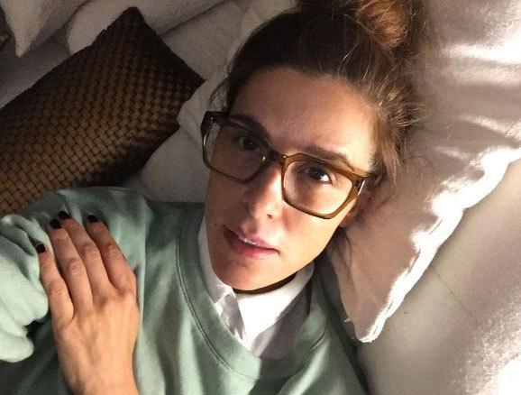 El pasado día 1 la presentadora (44) acudía a un hospital de Madrid...