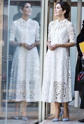 La princesa derrochó estilazo en Japón con un romántico vestido...