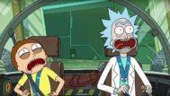 Rick (derecha) y Morty son el abuelo y el nieto protagonistas de esta animación.