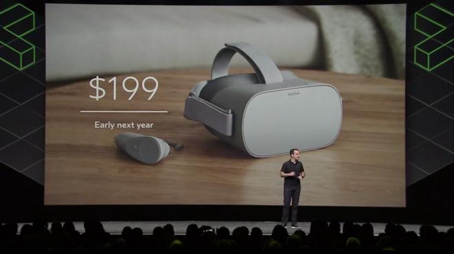 Un momento de la conferencia de desarrolladores Oculus Connect.