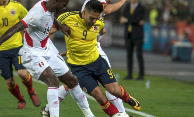 Falcao niega un acuerdo con jugadores peruanos