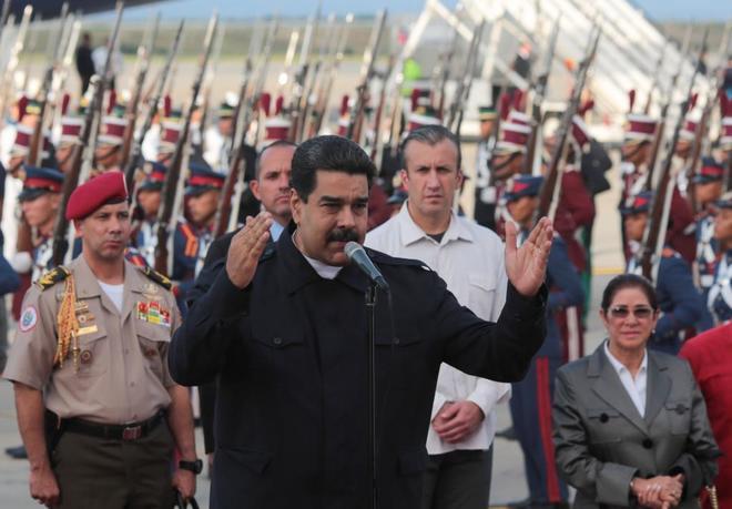 Maduro arremete contra la Fiesta Nacional y el Rey