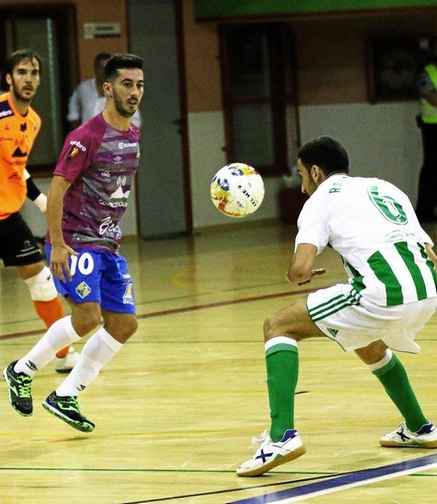 Joselito, durante el partido de copa ante el Real Betis.