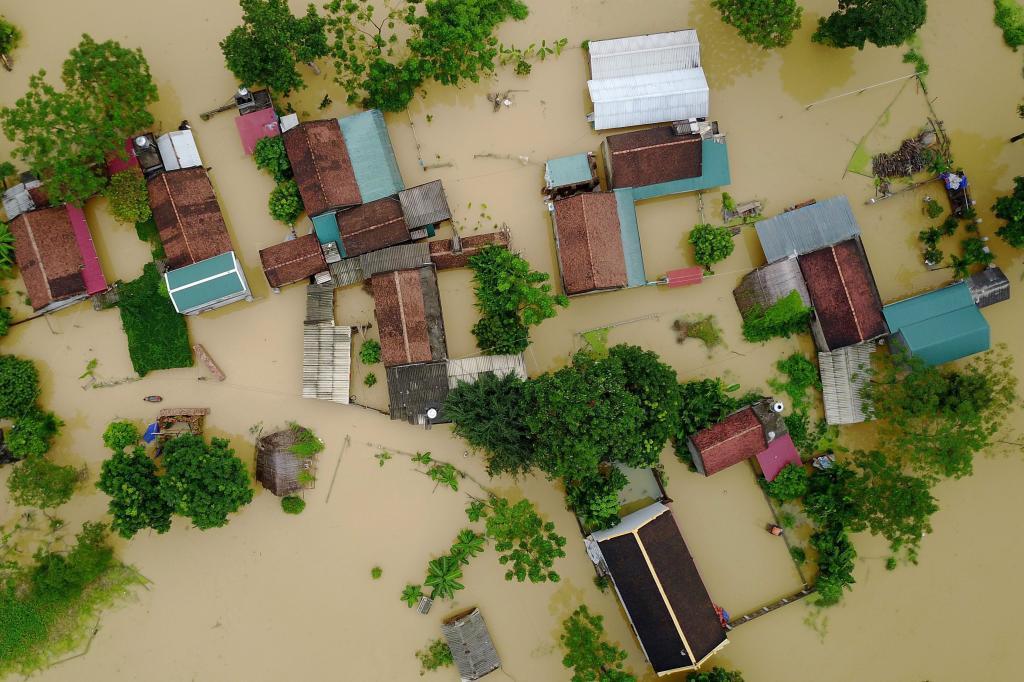 La fuerte tormenta tropical que azota el país desde comienzos de esta...