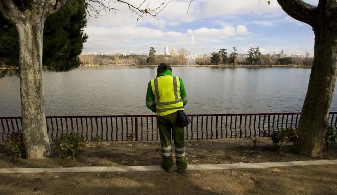 El lago de casa de campo ser vaciado en noviembre para su - Limpieza casas madrid ...