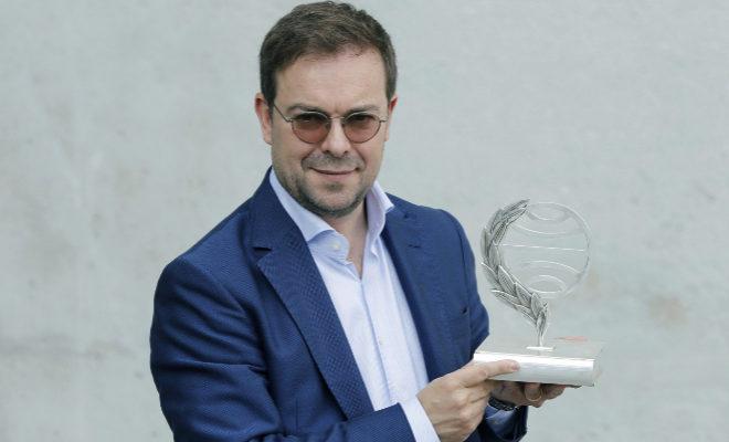 El reciente ganador del premio Planeta, Javier Sierra.