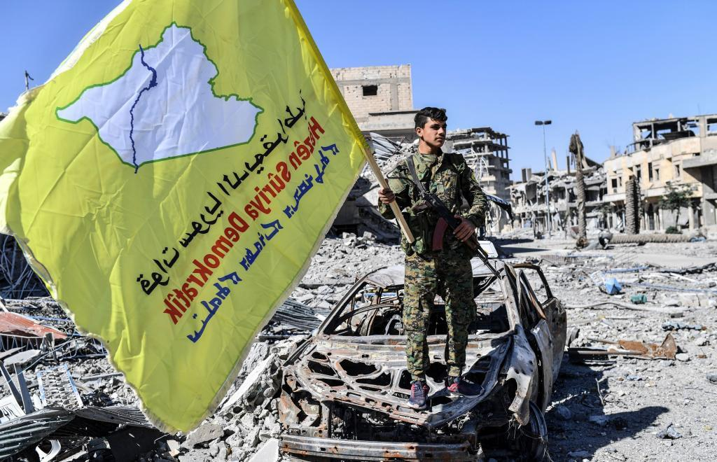 La alianza antiyihadista ha tomado hoy la capital del Estado...