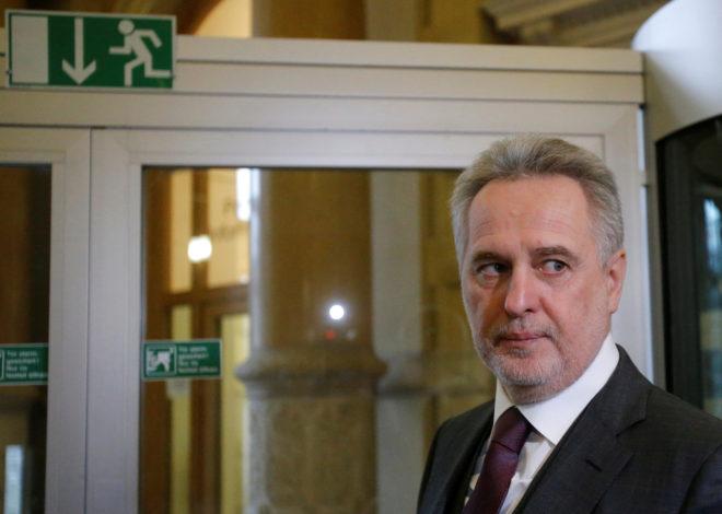 El oligarca ucraniano Dimitry Firtash en febrero de este año.