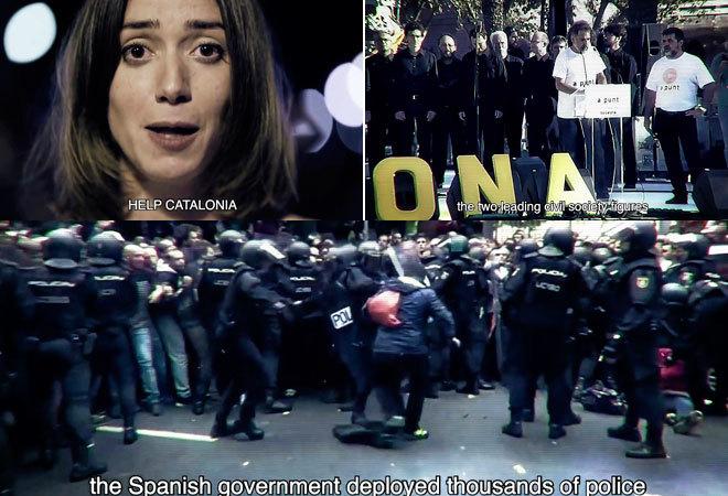 COPIA UCRANIANA. La plataforma independentista Òmnium Cultural...