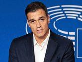 El secretario general del PSOE, Pedro Sánchez, ayer en Bruselas. EFE