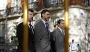El jefe operativo de los Mossos, Josep Lluís Trapero, a su llegada a...