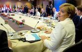 Los líderes del Consejo Europeo, durante la cumbre celebrada el...