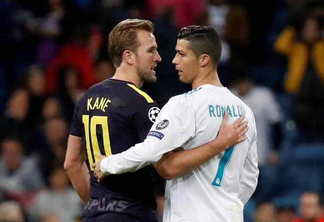 El Tottenham niega contactos con el Real Madrid por Kane