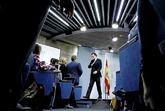 Mariano Rajoy, tras comparecer al término del Consejo de Ministros...