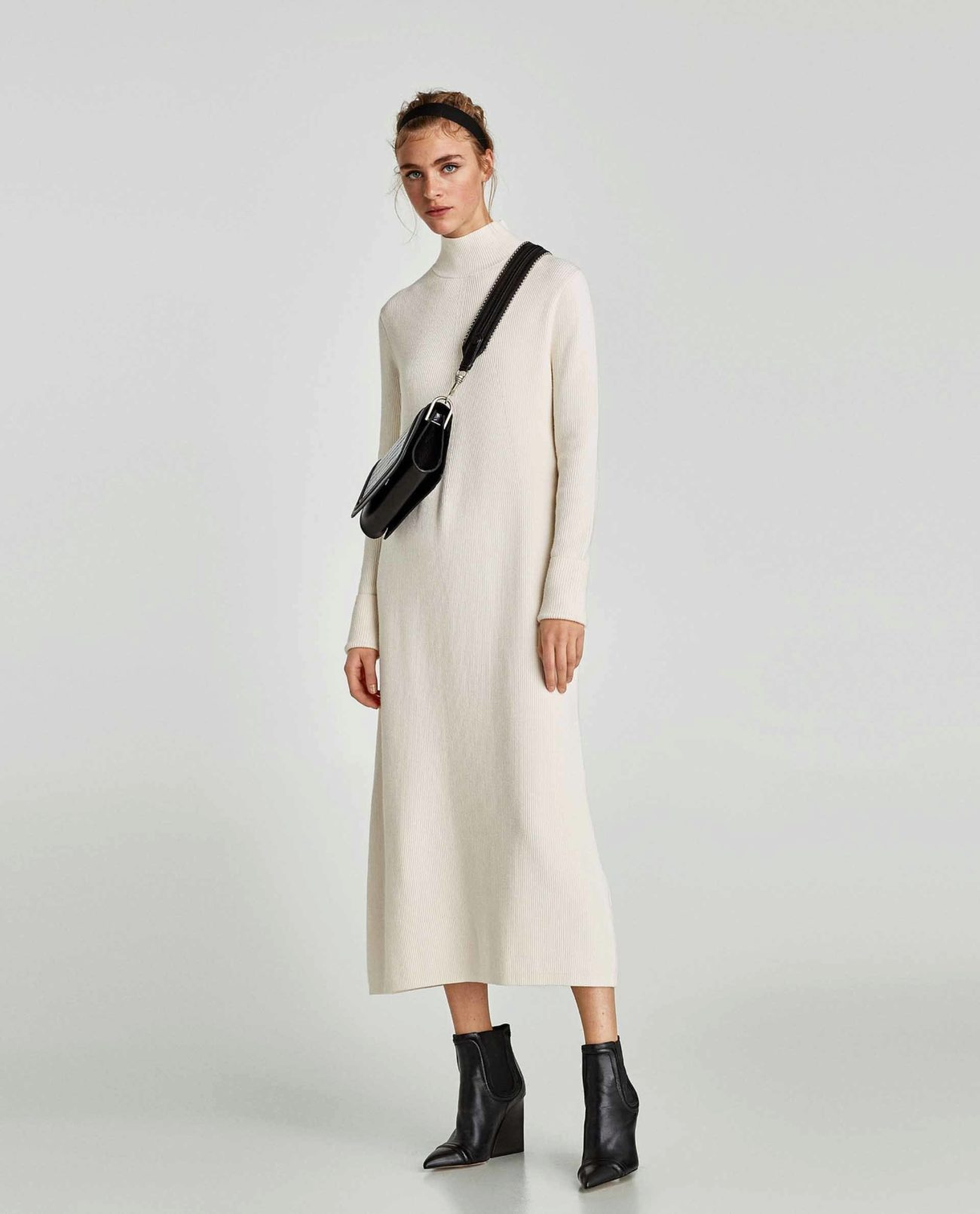 Vestidos blanco de zara