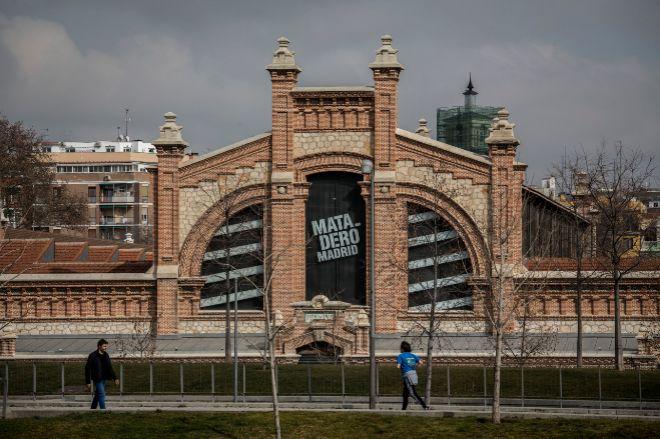 Imagen exterior del Centro de Creación Contemporánea, Matadero.