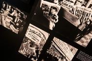 Algunas portadas de los principales periódicos de la época anunciando el asesinato del ex presidente Kennedy.