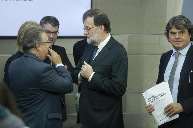 Mariano Rajoy comparece en rueda de prensa tras la reunión...