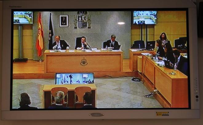 Un momento de la sesión del juicio por el 'caso Gürtel', con el informe final de los fiscales.