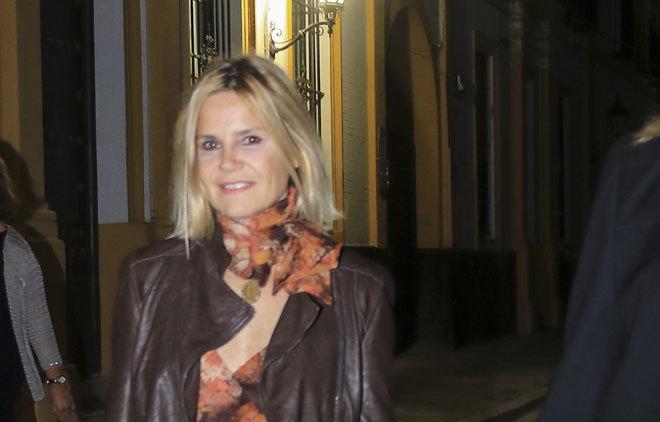 Eugenia Martínez de Irujo, en un acto de este miércoles.