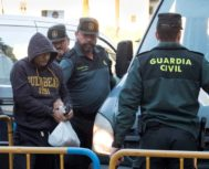 Sergio Morate a su llegada a la Audiencia Provincial de Cuenca.
