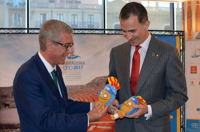 Presentación de la mascota de los Juegos Mediterráneos para Tarragona.